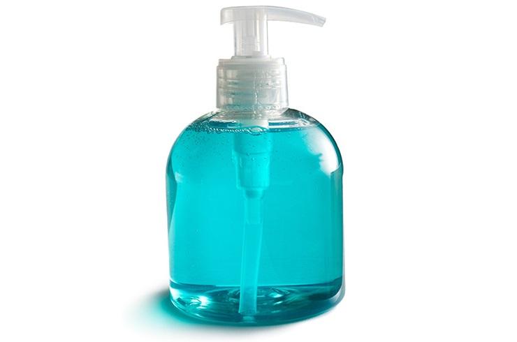 Jabón durante el sexo